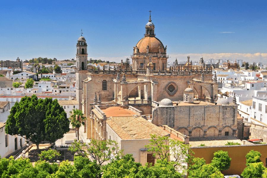 El casco histórico de Jerez de la Frontera