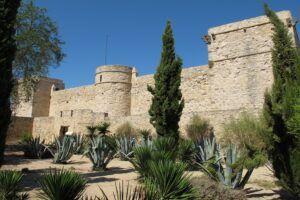 castillo de santiago en sanlucar