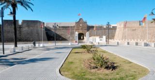 Portada Castillo Santa Catalina Cadiz